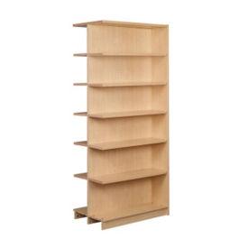 """Double Faced Shelving Adder, 6 Shelves, 84""""H, B34338"""