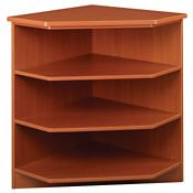 "Circulation Desk 90 Degree Corner Shelf 40""H, B34357"