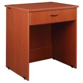 "Circulation Desk Open Module with Locking Drawer 40""H, D35204"