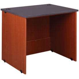 "Circulation Desk Open Kneespace Station 36""W x 30""H, D35223"