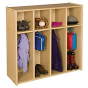 Single Sided Toddler Locker 4 Sections, P30286