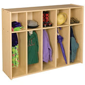 Single Sided Toddler Locker 5 Sections, P30287