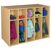 Double Sided Toddler Locker 10 Sections, P30289