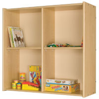 "Open Divided Wall Storage 37""H, P30290"