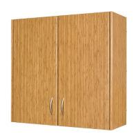 "Wall Shelf Storage Unit with Doors 36""H, P30295"
