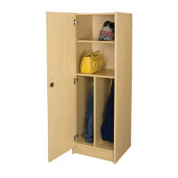 "Teacher Wardrobe with Left Hinge Door 59""H, P30302"