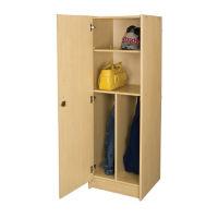 """Teacher Wardrobe with Left Hinge Door 59""""H, P30302"""