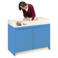 Changing Table with 12 Storage Bins, Assembled, P30369