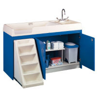Toddler Changing Center with Right Hand Sink, P30374