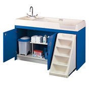 Toddler Changing Center with Left Hand Sink, P30375