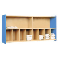 Diaper Wall Storage with Maple Interior, Assembled, P30380