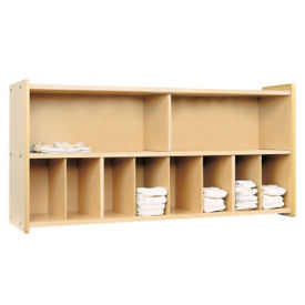 Diaper Storage with Maple Interior, Unassembled, P30381