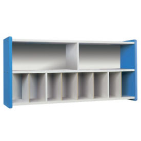 Diaper Wall Storage with White Interior, Unassembled, P30382