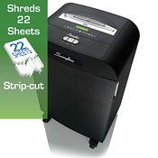 Level P2 Strip Cut Paper Shredder - 13 Gallons, V21822