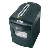 Cross Cut Level P3 Paper Shredder - 6 Gallons, V21823