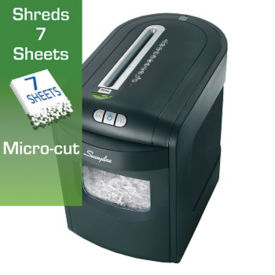 Micro Cut Level P5 Paper Shredder - 6 Gallons, V21824