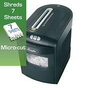 Micro Cut Level P5 Paper Shredder - 6 Gallons, V21824