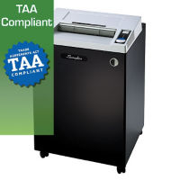 Heavy Duty Cross Cut Paper Shredder - 55 Gallons, V21836