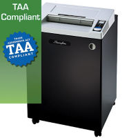 Heavy Duty Cross Cut Paper Shredder - 44 Gallons, V21840