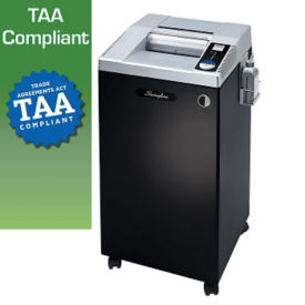 Heavy Duty High Security Cut Paper Shredder - 30 Gallons, V21842
