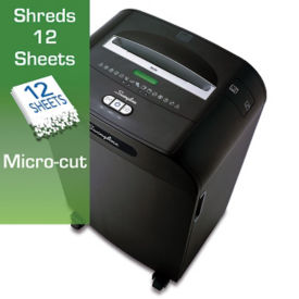 Departmental Micro Cut Paper Shredder - 13 Gallons, V21847