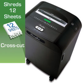 Departmental Cross Cut Paper Shredder - 13 Gallons, V21849