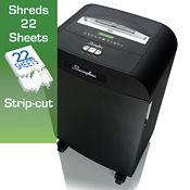 Departmental Strip Cut Paper Shredder - 19 Gallons, V21850