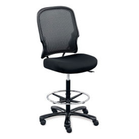 Linear Collection Armless Big and Tall Stool, C80336