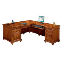 Executive L-Desk with Right Return, L40391