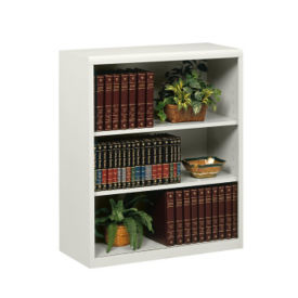 "42"" High Metal Bookcase, B30449"