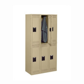 Double Tier Locker 6 Openings, B30473