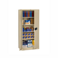 "Storage Cabinet with Keypad Lock 78""H x 24""D, B34290"