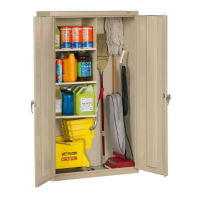 "Janitorial Cabinet 36""W, B34291"