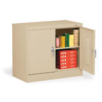Counter Height Storage Cabinet - 18 Inches Deep, B34461