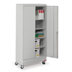 "Mobile Combination Storage Cabinet - 36""W x 18""D x 79""H , B34709"