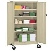 "Mobile Storage Cabinet - 36""W x 24""D x 77""H, B34705"