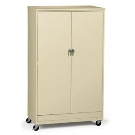 "Mobile Storage Cabinet - 48""W x 24""D x 77""H, B34708"