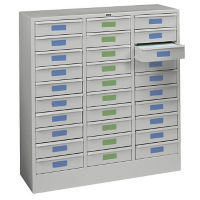 "30 Drawer Letter File Cabinet - 30.625""W, B34751"