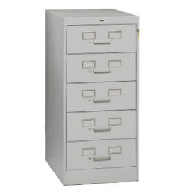 "Five Drawer Card File - 19""W, B34755"