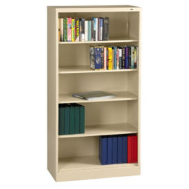 "72"" High Steel Bookcase, B30345"