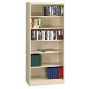 "84"" High Steel Bookcase, B30346"