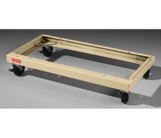 "Caster Base for 24""D Jumbo Cabinets, V22001"