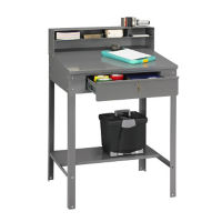 Foreman's Shop Desk Open Style, D35164