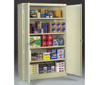 "Storage Cabinet Jumbo 24"" Deep x 48"" Wide, D31122"