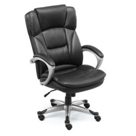 Big & Tall Faux Leather Executive Chair, C80270