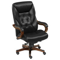 Kingston Faux Leather Big and Tall Executive Chair, C80305S