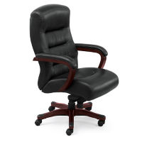 Top Grain Leather Executive Chair, C80306