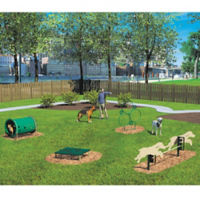 BarkPark Four Piece Novice Dog Park Set, F10405