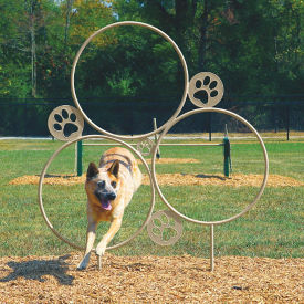BarkPark Large Hoop Jump Dog Park Trainer, F10412