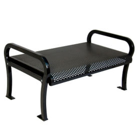 Perforated Steel 6' Bench without Back, F10144